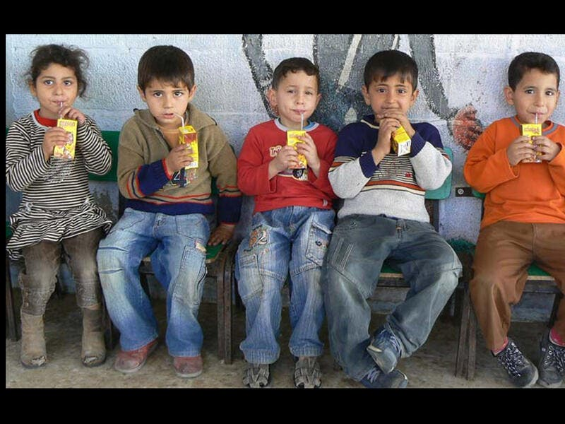 gaza children starving