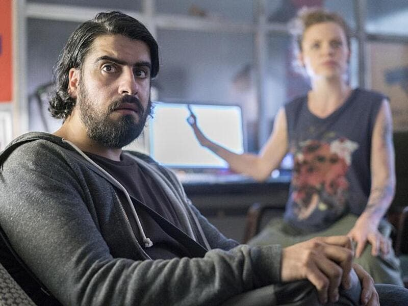 Atheer Adel in Homeland, Season 5. (IMDB)