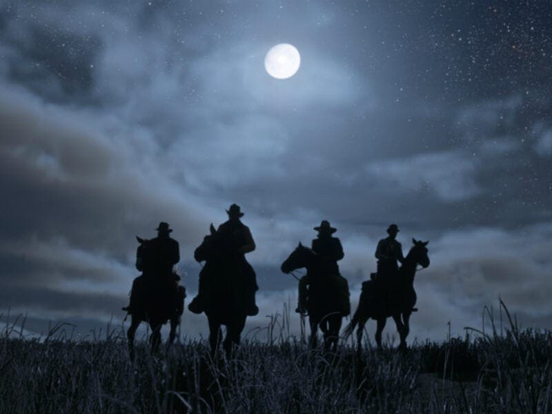 From Red Dead Redemption II. (Rockstar)