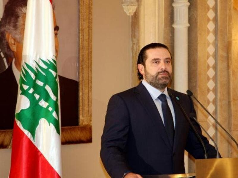 "Lebanon's Prime Minister Saad al-Hariri insists on ""the formation of a government of national consensus"". (AFP/ File)"