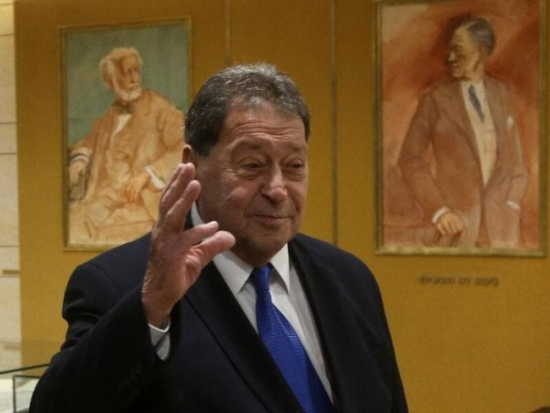 Binyamin Ben-Eliezer is a former defense minister and one-time head of the Labor Party. (AFP/Marc Israel Sellem)