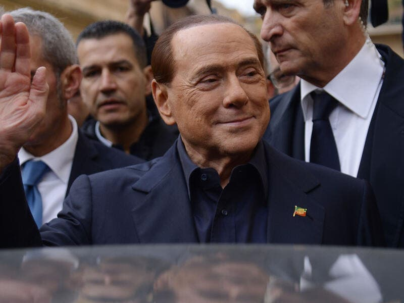 Silvio Berlusconi, former prime minister can run for public office once again because of an Italian court ruling. (AFP/ File Photo)