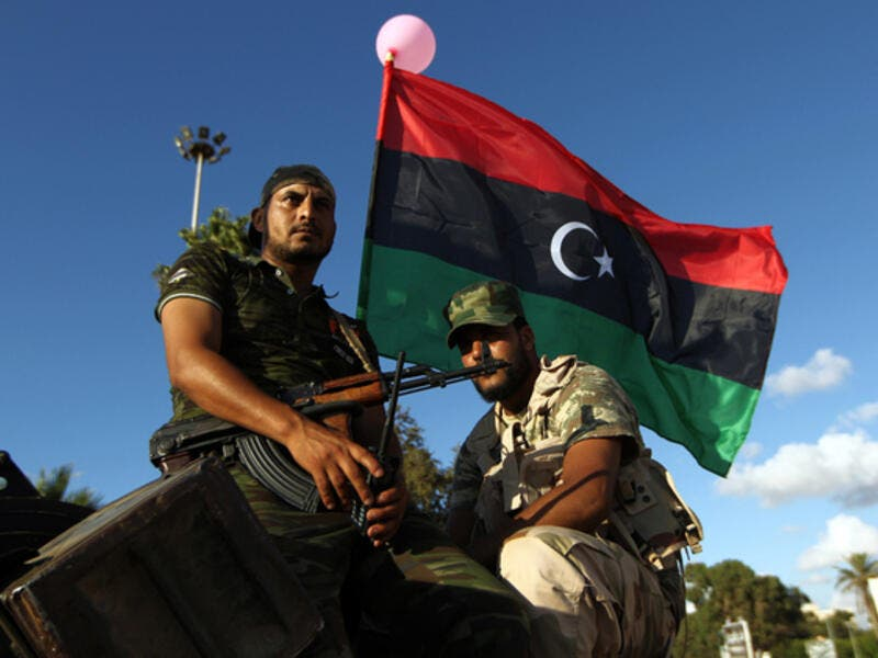 Forces loyal to Field Marshal Khalifa Haftar, who controls much of east Libya (AFP/file photo)
