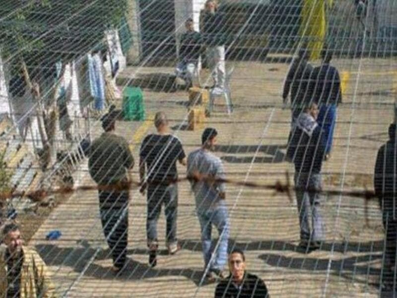 Palestinian prisoners continue their open ended hunger strike  (Twitter)