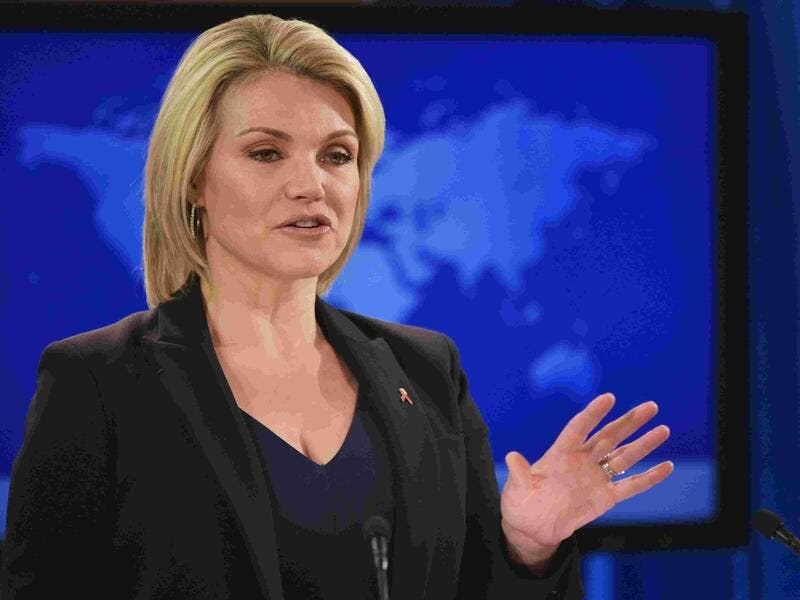 Heather Nauert nominated as the new US Ambassador to the United Nations. (AFP/ File)