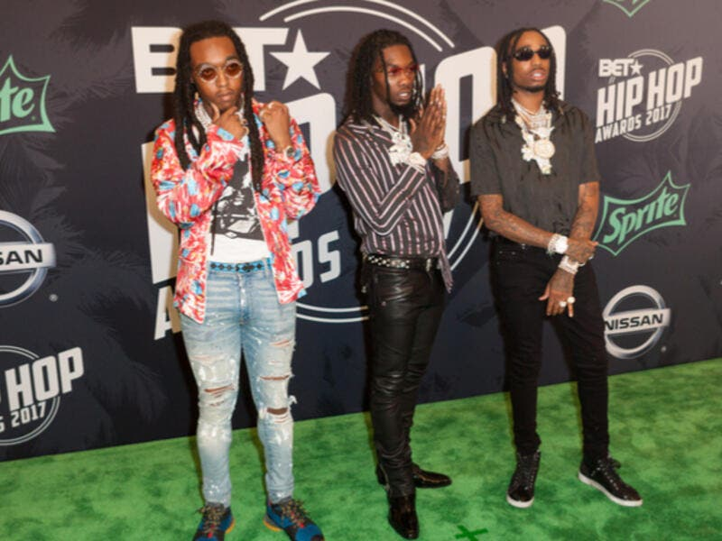 Migos' Culture II is No. 1 on the U.S. album chart, Billboard.com announced Saturday. (Source: Jamie Lamor Thompson - Shutterstock)