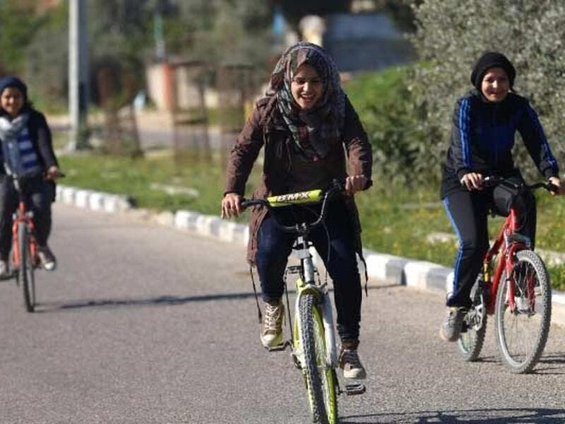 There is something about women and mobility which strikes fear into the hearts of shamers everywhere. Women riding bicycles is still a controversial concept in the Middle East, baffling the rest of us. Is it viewed as a threat to a woman's virginity or just unsettling to see women on the move?