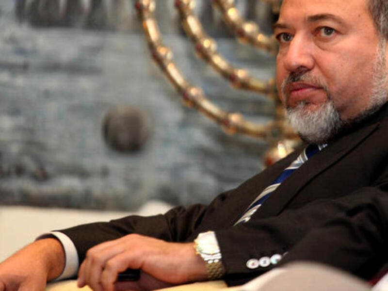 Avigdor Lieberman, who is set to become Israel's new defence minister, worked as a nightclub bouncer before embarking on a political career marked by anti-Palestinian tirades and strident populism. (AFP/File)