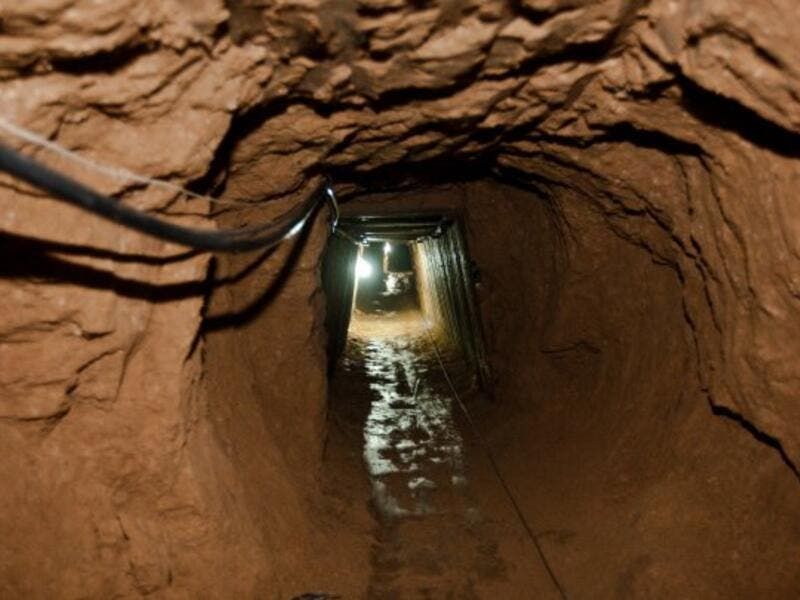 Until the July 2013 ouster of Egyptian president Muhammad Morsi, tunnels connecting the Gaza Strip to Egypt provided a vital lifeline for the small Palestinian territory. (AFP/File)