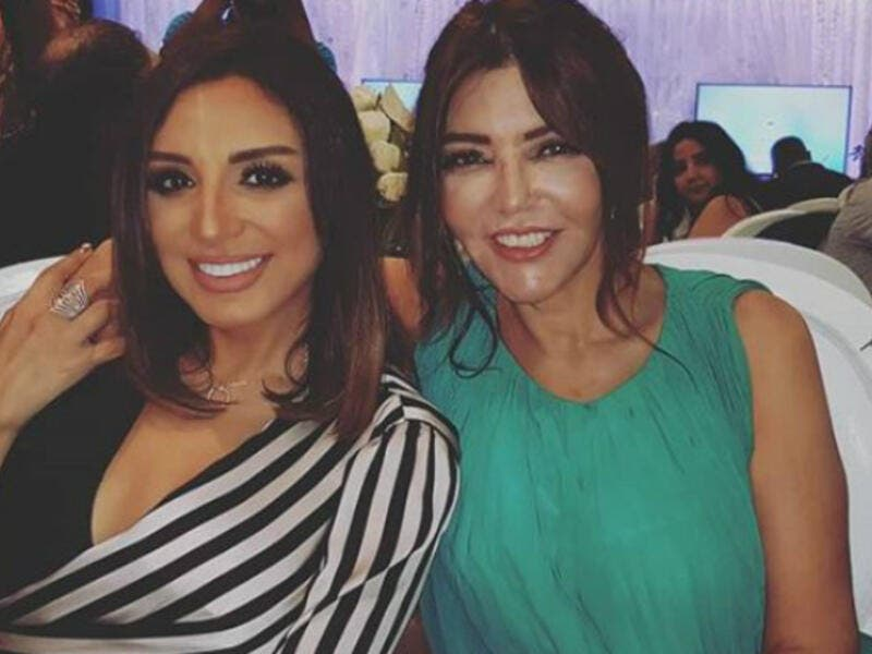 Elissa posted a picture of Angham and Samira Said to her Instagram account captioning it The two lovely