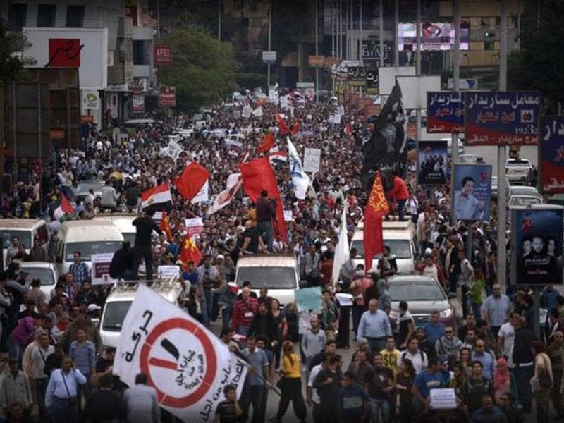Egypt protests en-masse against Morsi's power grab