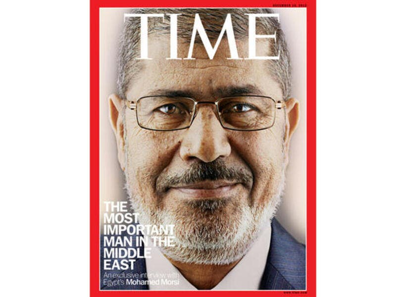 Time magazine Morsi interview