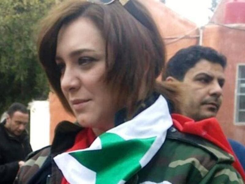 Sulaf Fawakhergi is a Syrian actress with Assad.