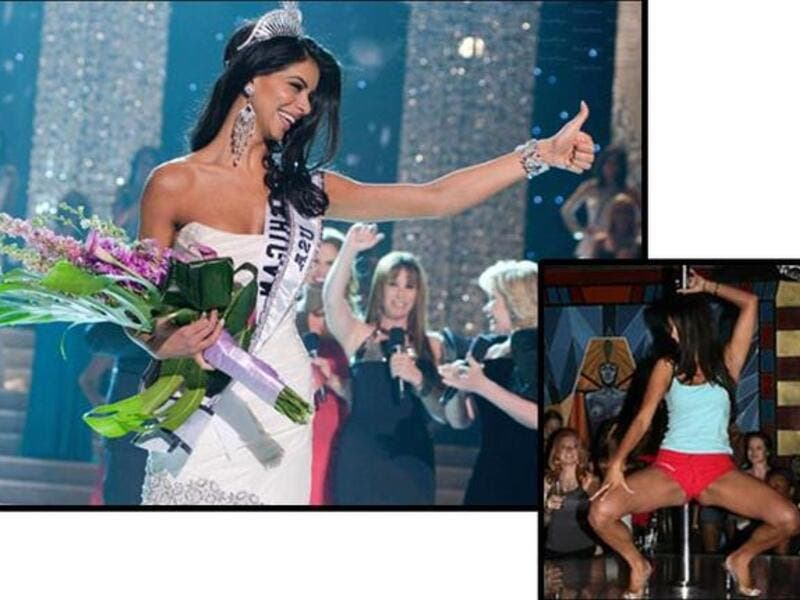 Reema Fakeh US pageant strip