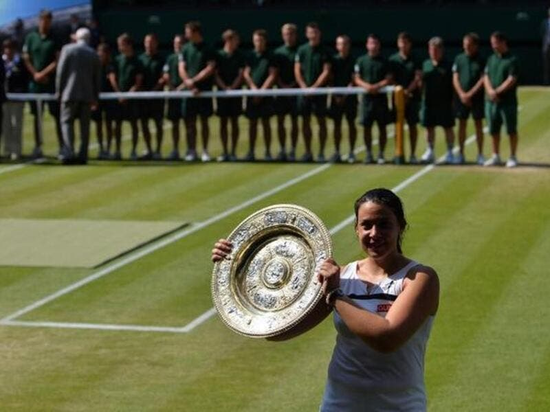 'Tired' Bartoli not planning on tennis comeback despite signing for pre-Wimbledon event