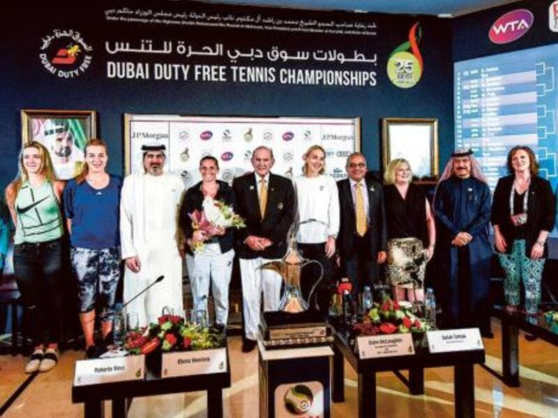 All set for main draw action with organisers confident event will get even better with time (Photo: Gulf News)