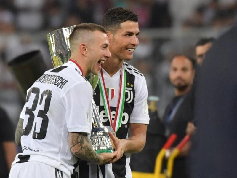 Juventus will return to Turin with the Supercoppa Italiana in tow after Cristiano Ronaldo's header sank AC Milan.