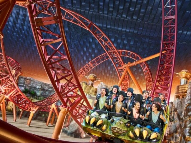 Theme parks in the UAE could be subject to the new tax, starting from 2018. (Courtesy of IMG Worlds)