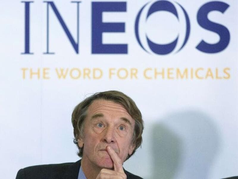 Jim Ratcliffe, chairman and chief executive of Ineos. (AFP/ File Photo)