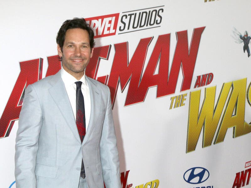 Paul Rudd is to play dual roles in an eight-episode comedy for Netflix called Living with Yourself.(Shutterstock/ File)