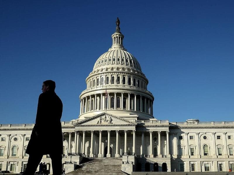 The US Congress building in Washington. (AFP)