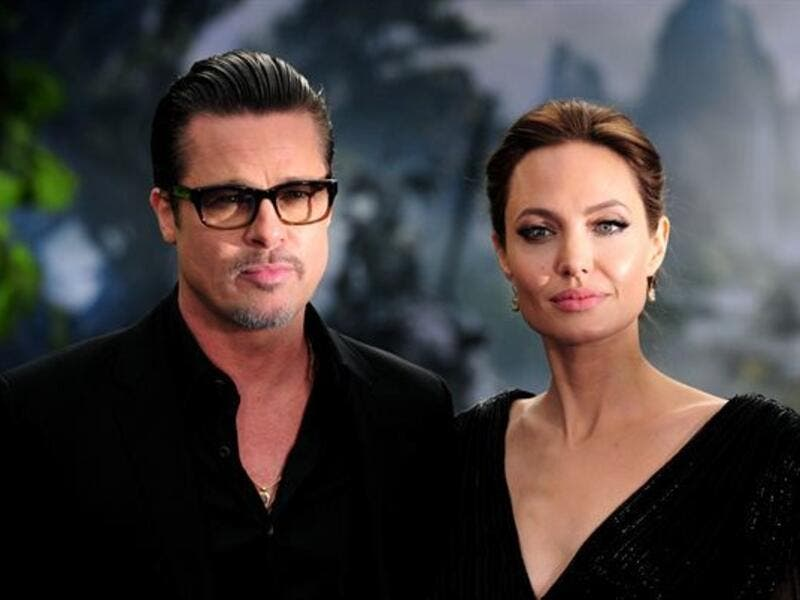 Brad Pitt was not happy with his children making those trips with Angelina. (File photo)
