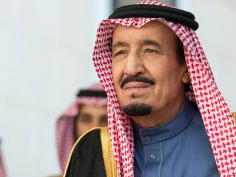 Saudi Arabian King Salman. (AFP/File)