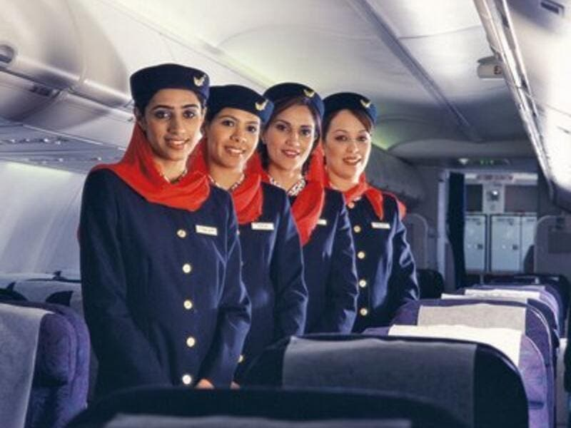 Ever wondered why Oman Air cabin crew were so nice?
