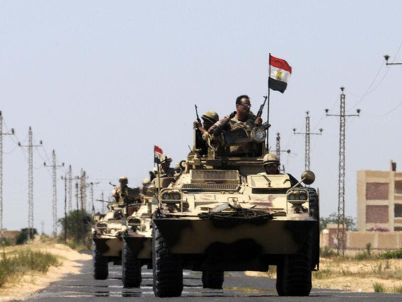 Egyptian military officials are also often targeted by militants in the restive Sinai peninsula (File Archive/AFP)