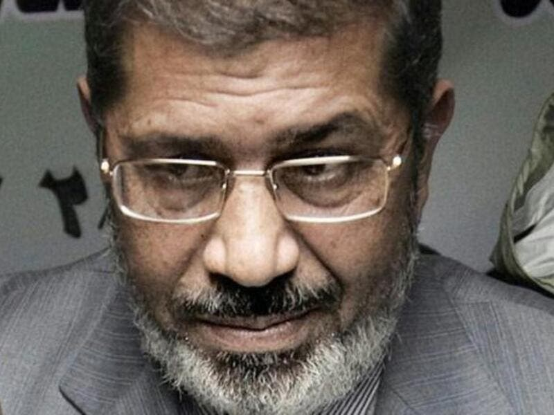 Egyptian president, Mohamed Morsi.