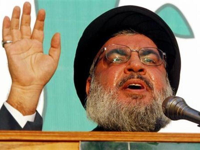 Hezbollah leader Hasan Nasrallah. (Al Bawaba file photo)