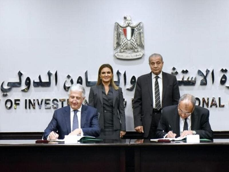The first Master Murabaha agreement was signed by Eng. Hani Salem Sonbol, Chief Executive Officer ITFC and Ahmed Yousef, Deputy Chairman of the Commodity Supply Authority. (SG)
