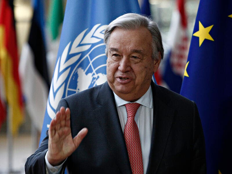 U.N. Secretary-General Antonio Guterres (Shutterstock/File Photo)
