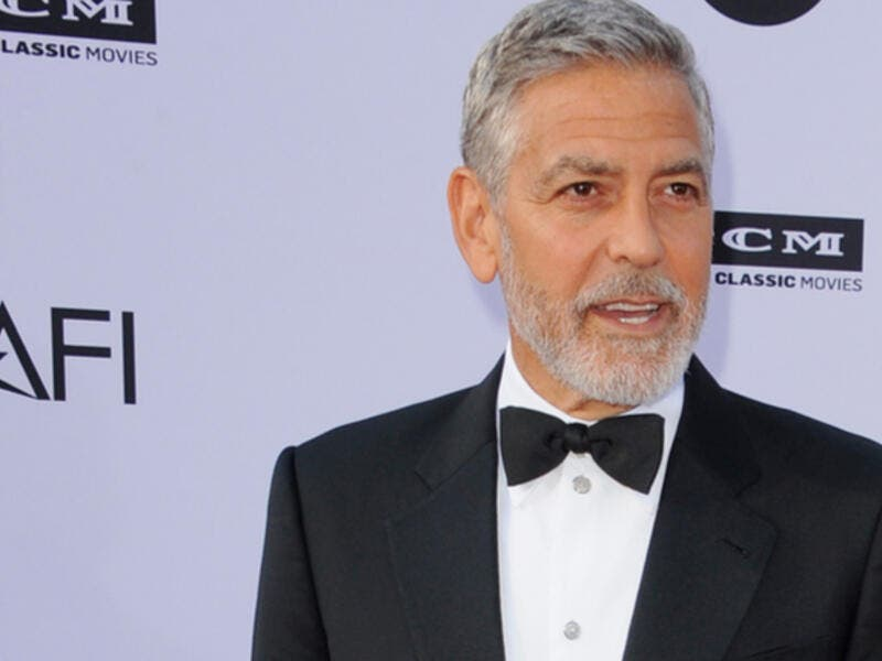 George Clooney was briefly hospitalized (Source: Tinseltown / Shutterstock )