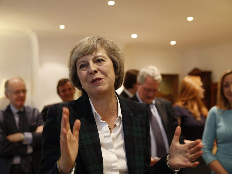 British Prime Minister Theresa May  (Shutterstock/File Photo)