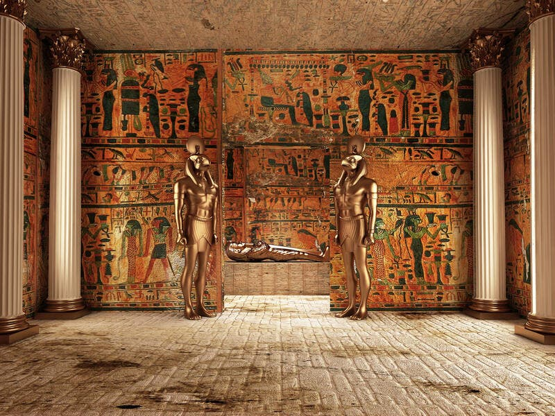 Pharaoh's Tomb in Egypt. (Shutterstock/ File Photo)