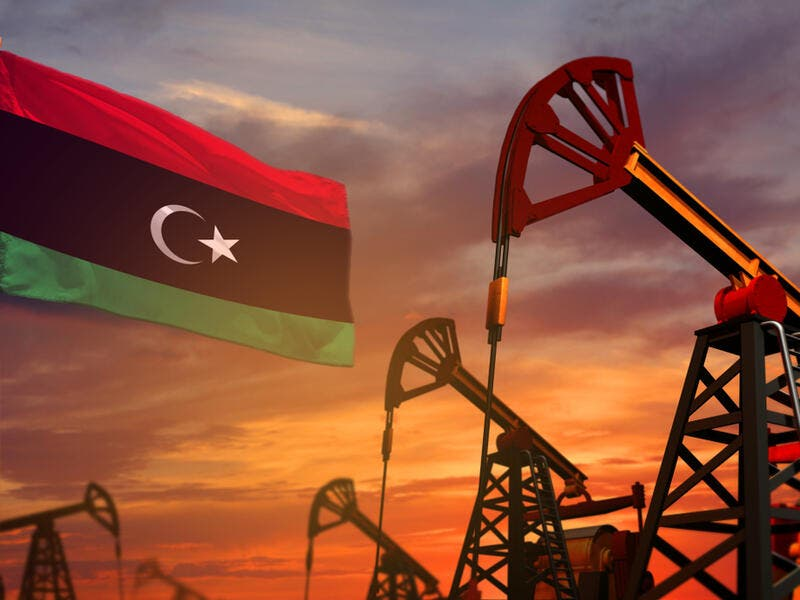 Libya's total oil production currently stands at around 1.17m bpd, according to Bloomberg. (Shutterstock)