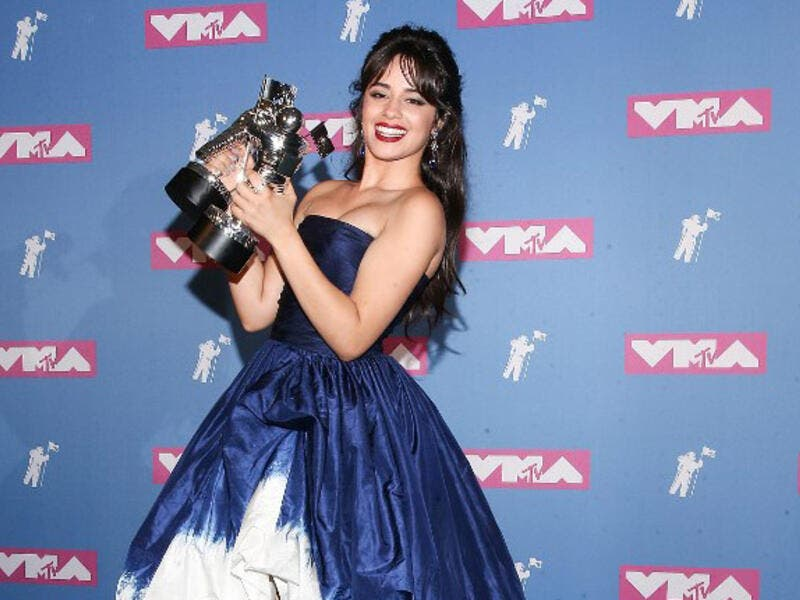 Camila Cabello Also won Best video of the Year (Source: PAUL ZIMMERMAN / GETTY IMAGES NORTH AMERICA / AFP )