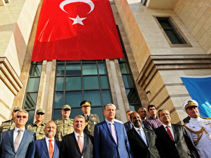 Turkey's Erdogan opens a new Turkish Embassy in Somalia, AFP/File