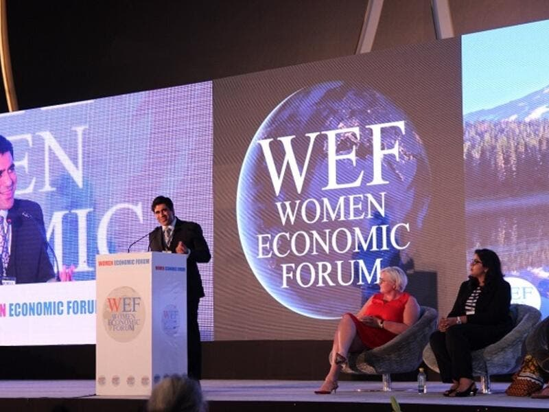 The forum brings together around 1,000 business leaders, entrepreneurs, diversity champions and policy-makers from both genders. (Courtesy of WEF)