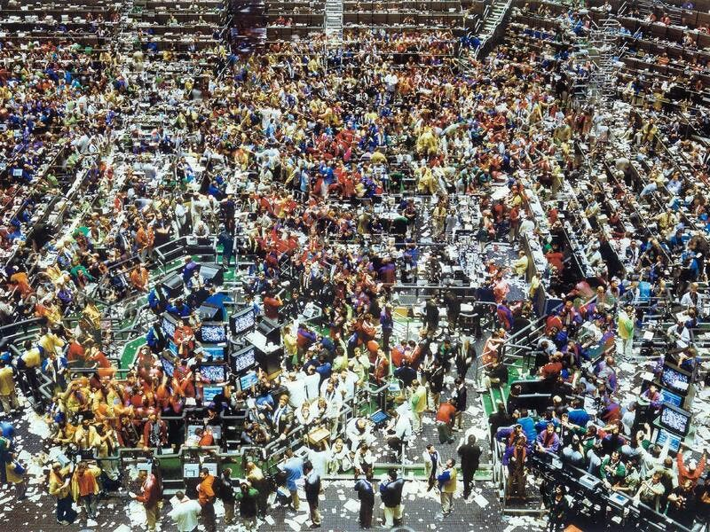 7. Andreas Gursky, Chicago Board of Trade