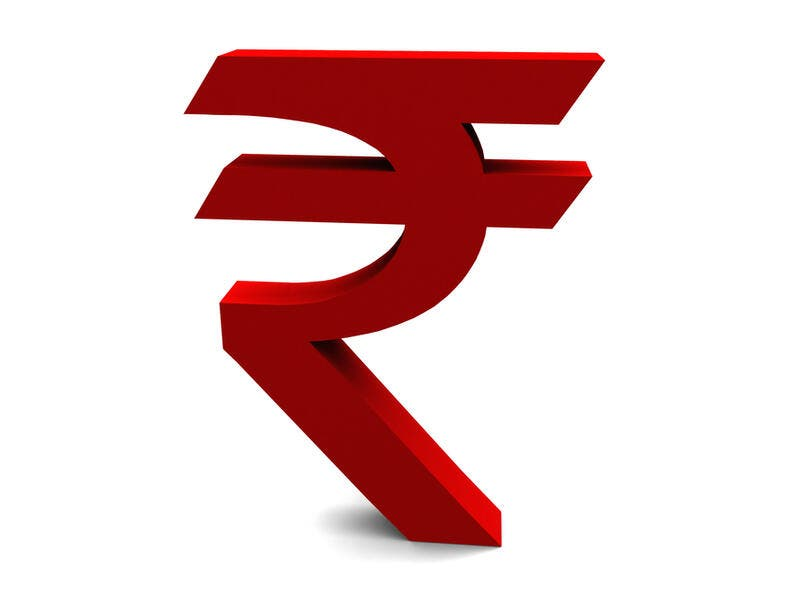 The Indian Rupee (₹)