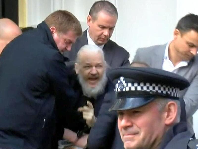 What has happened to Julian Assange?