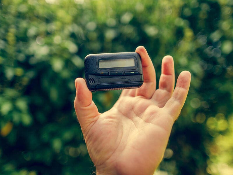 8. Beepers: Another device that has been replaced by the smartphone is the beeper. As a matter of fact, the beeper became obsolete before the smartphone was even invented. People stopped using it once the mobile phone was available in stores.