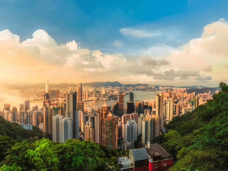 3. Hong Kong: Hong Kong moved up 3 places from last year, and it's now one of the three most expensive cities in the world.