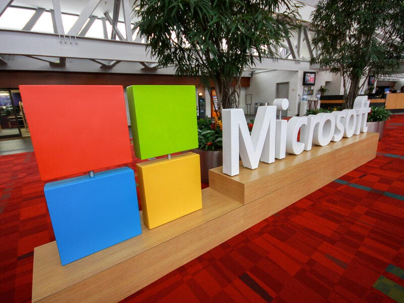 3. Microsoft: Microsoft ranked third with a brand value worth of $125.3 billion.