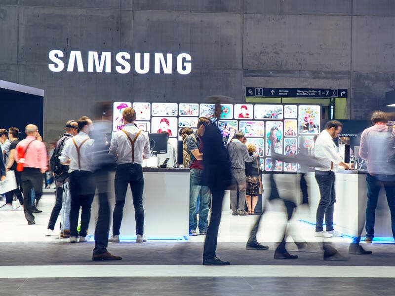 7. Samsung: Samsung ranked 7th in the list with a brand value worth of $53.1 billion.