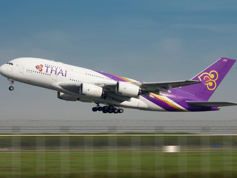 "4. Thai Airways: Thai Airways is the flag carrier airline of Thailand, formed in 1988. Thai Airways is a founding member of the Star Alliance. Including its subsidiaries, Thai Airways flies to 84 destinations in 37 countries, using a fleet of over 90 aircraft. The company slogan ""Smooth as Silk"" is a key brand denominator."