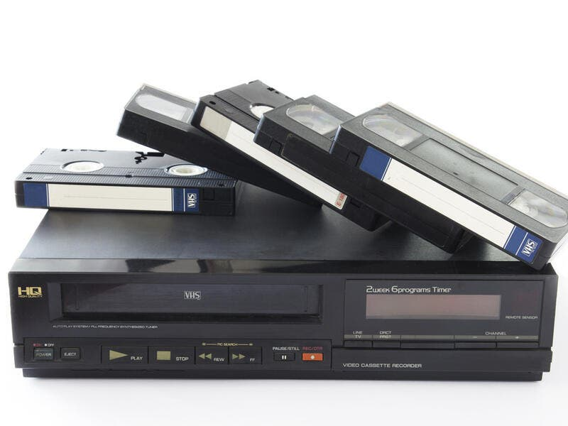 "5. VCRs: Before the term ""Let's Netflix and chill"" was invented, people relied on this invention for entertainment. They used to purchase/rent VHS tapes and watch them on their VCRs. If you have no clue what we're talking about, a VCR is a Video Cassette Recorder, and a VHS is a Video Home System, and your parents' wedding is most probably saved on of these."