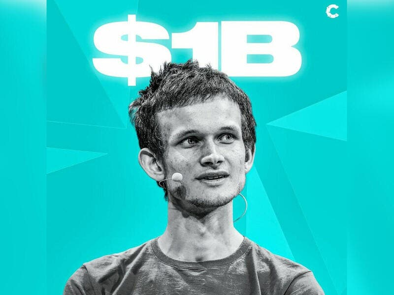 Ethereum Co-Founder Crowned World's Youngest Crypto Billionaire